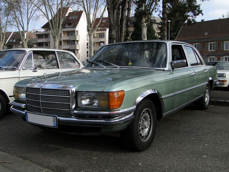 MERCEDES___BENZ_280_SE___W116___Berline___1972__1981__Retrorencard 1