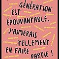La nouvelle génération est épouvantable - j'aimerais tellement en faire partie - matthias leridon - editions débats publics