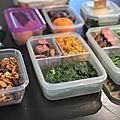 Le retour de la lunchbox et la mise en place du meal prep