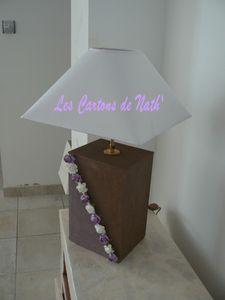 lampe mauve