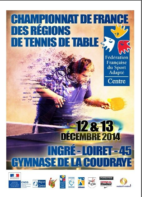 Championnat de france des r gions tennis de table sport - Championnat de france de tennis de table ...