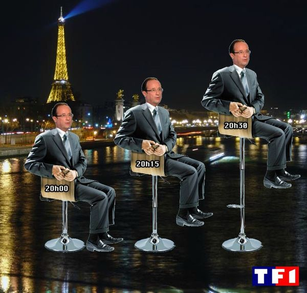 Hollande à TF1