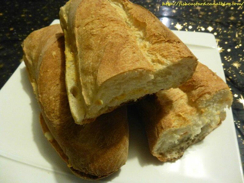 Sandwiches aux oeufs (baguette) (2)
