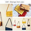 Diy : range ton sac