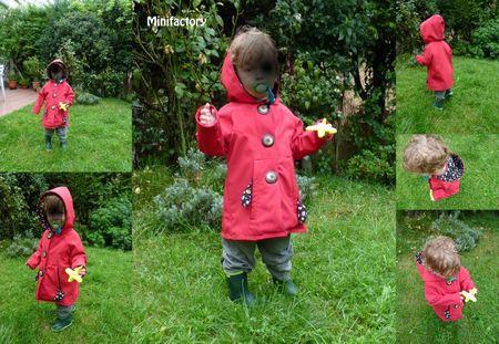 petit manteau rouge