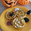 Little pumpkin pie - tartelettes sucrées au potiron