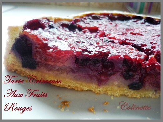 tarte cremeuse aux fruits rouges 02