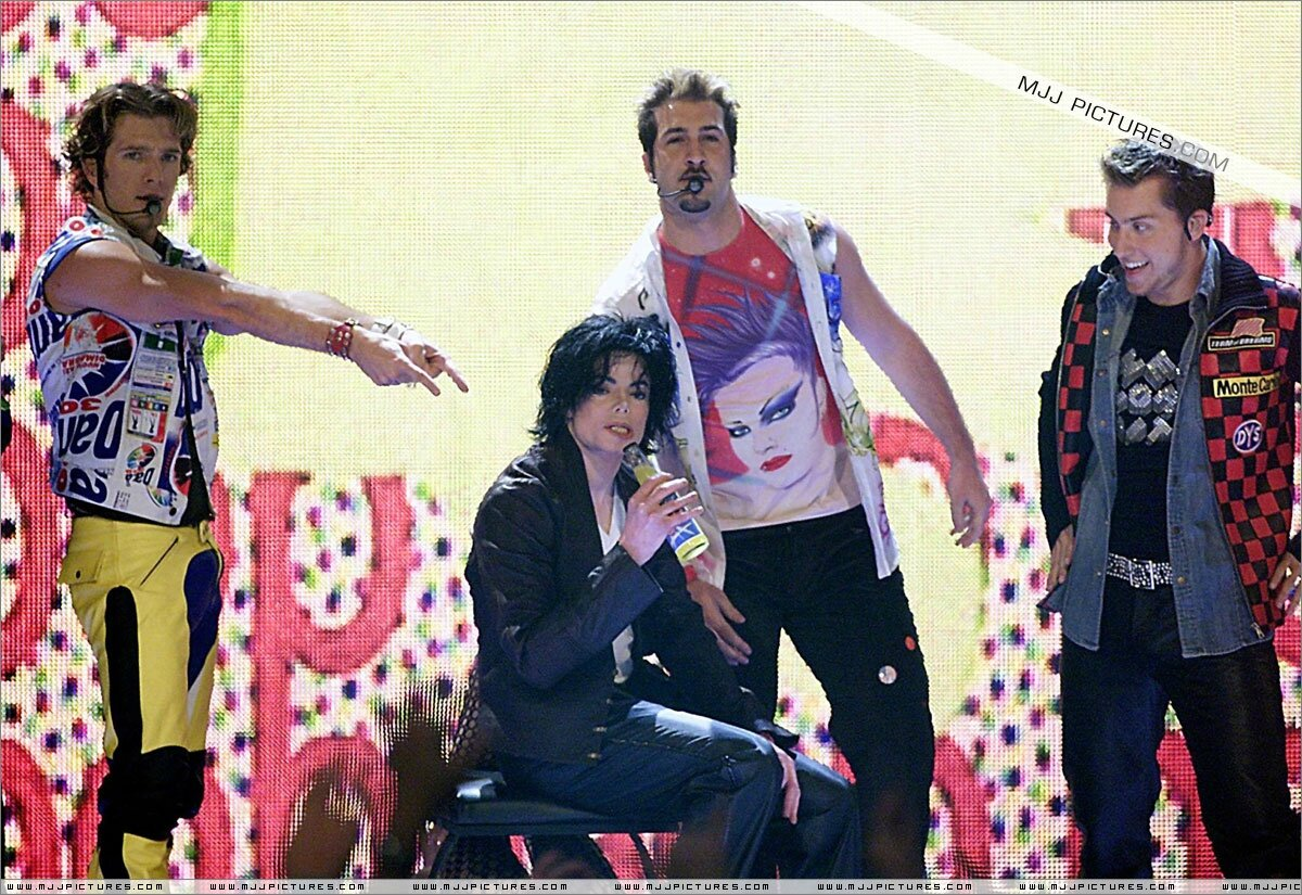 Nsync Tour With Pink