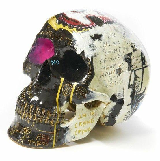 Connu Julien Marinetti (né en 1967), Sculpture Vanité. Photo Artcurial  EO17