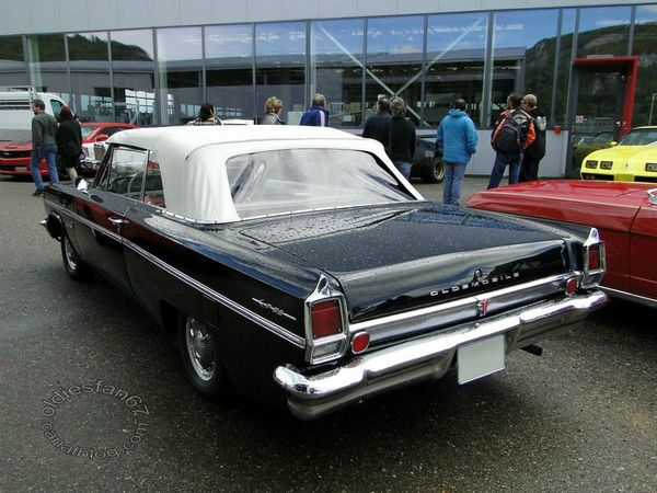 oldsmobile f85 deluxe cutlass convertible 1963 b