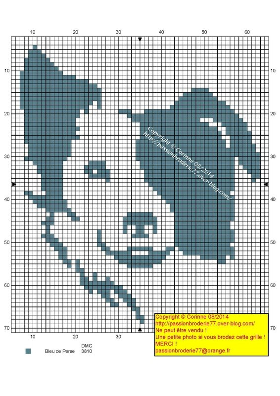 Knitting Pattern For Border Collie Dog : Le Blog des Dames