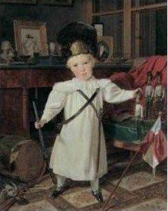 Ferdinand_Georg_Waldm_ller__1793_1865___Portrait_du_futur_Empereur_Fran_ois_Joseph_I_d_Autriche_en_grenadier