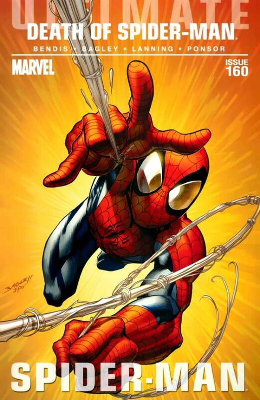 ultimate spiderman 160