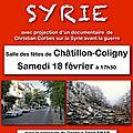 Conférence sur la syrie