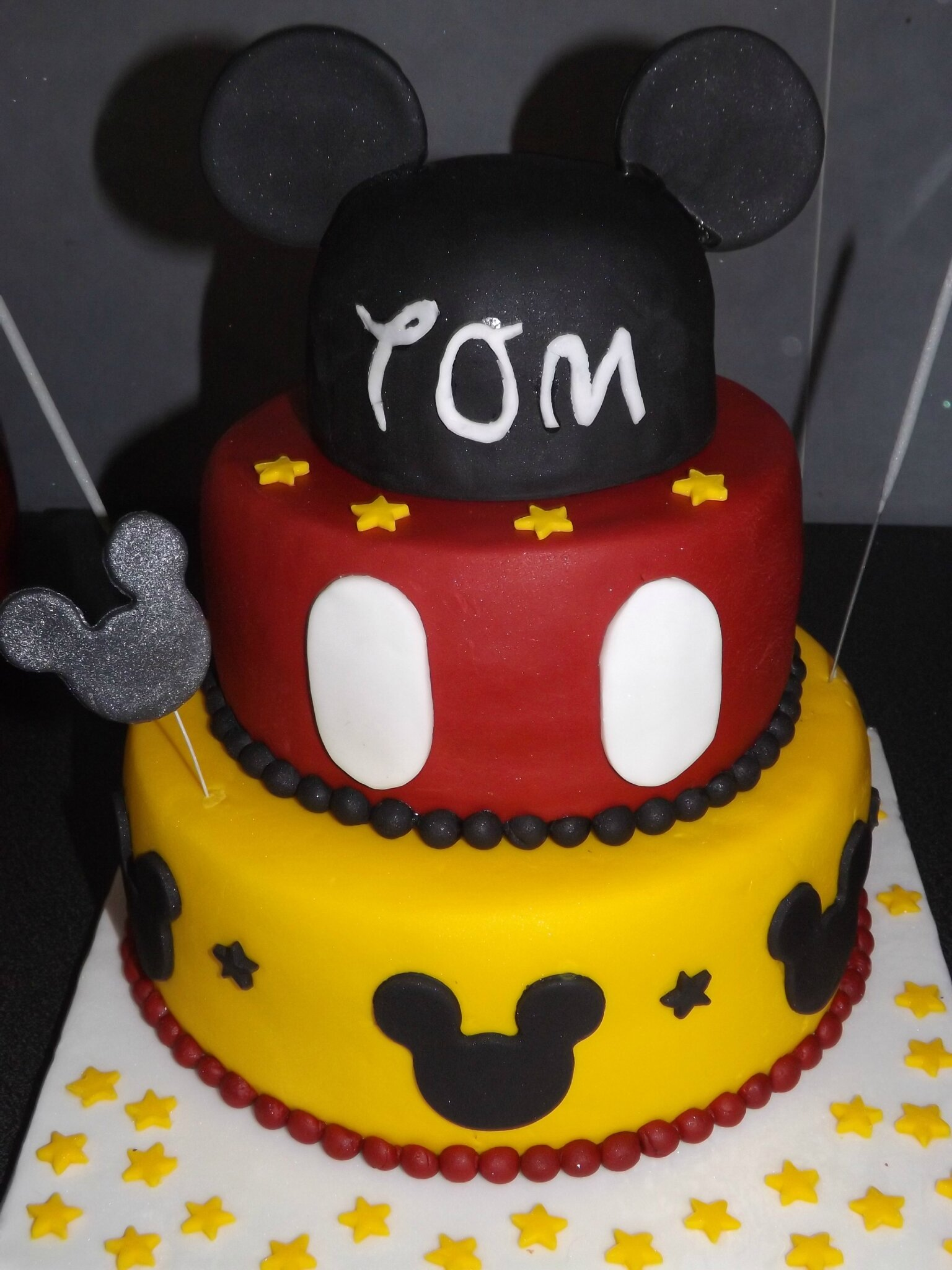 Gateau mickey - Gateau mickey facile ...