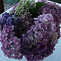 Bouquet d'hydrangea