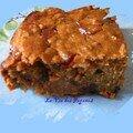 Gâteau de gaudes aux fruits confits