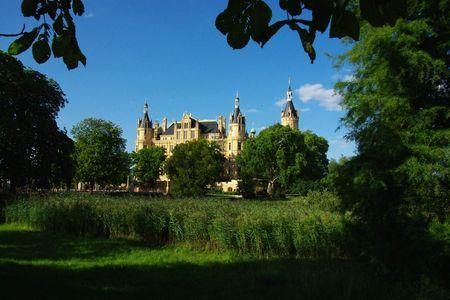 Catherine, le château de Schwerin (Allemagne du Nord)