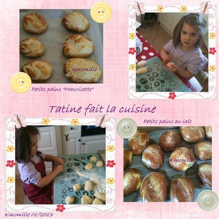 Tatine fait la cuisine