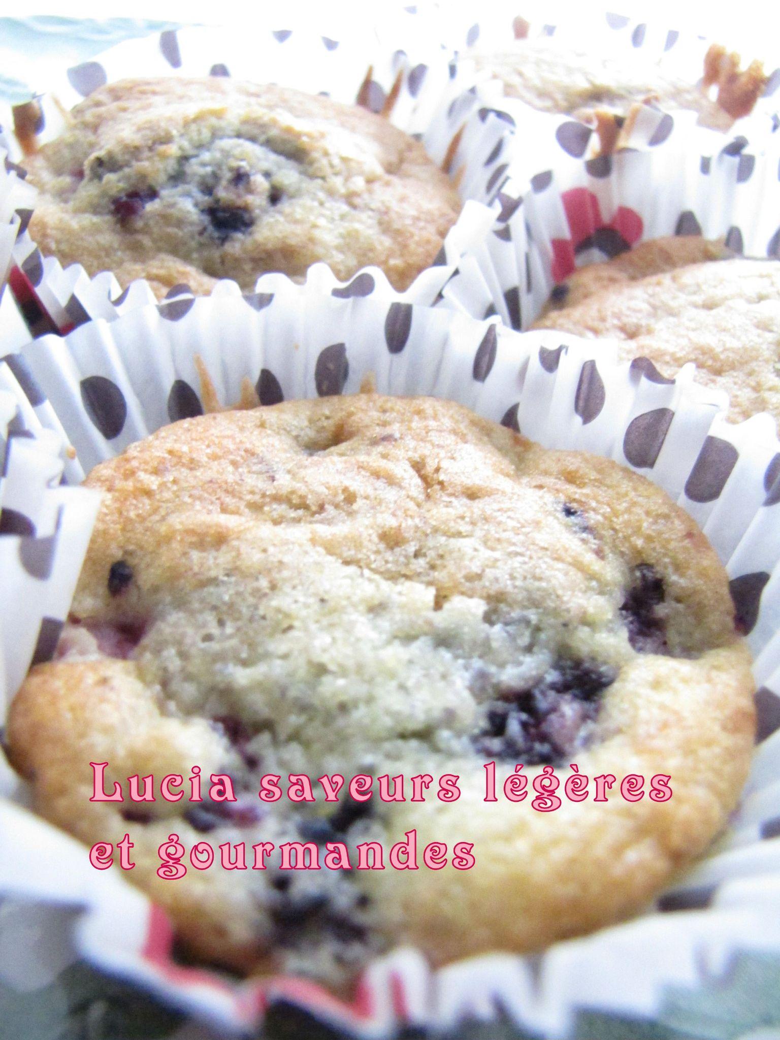 Voilà les délicieux muffins que j'ai réalisé, j'ai juste eu le ...