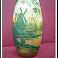 Vase en pâte de verre Devez