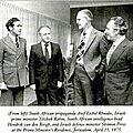 Shimon peres, artisan du rapprochement entre israël et le régime d'apartheïd en afrique du sud dans les années 70