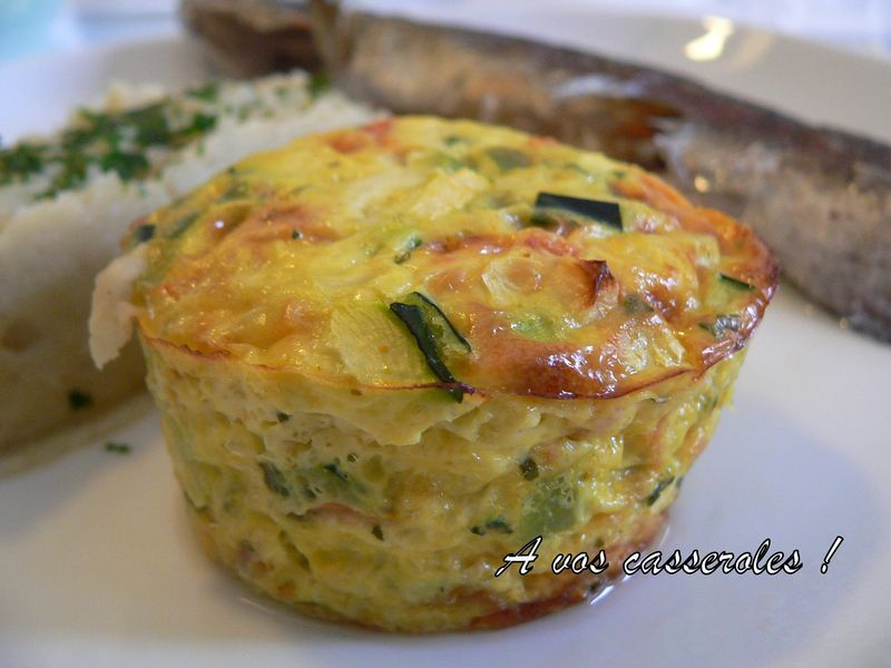 Recette flan de courgette - Recette flan de courgette thermomix ...