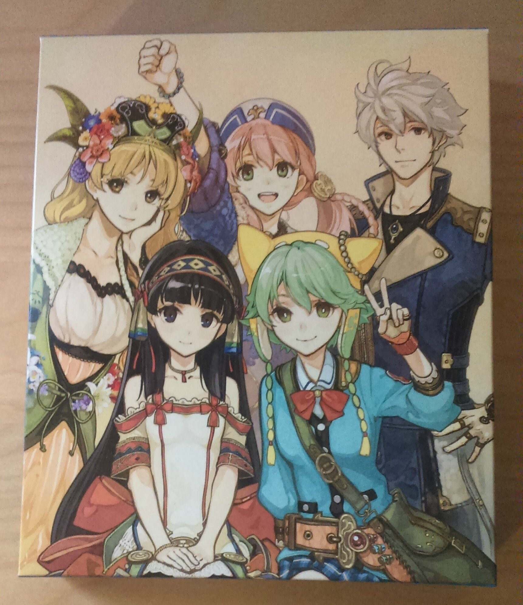 Unboxing : Atelier Shallie Plus : Alchemists of the Dusk Sea - Limited Edition