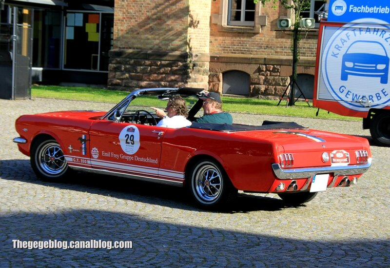Ford mustang GT350 convertible de 1966 (Paul Pietsch Classic 2014) 02