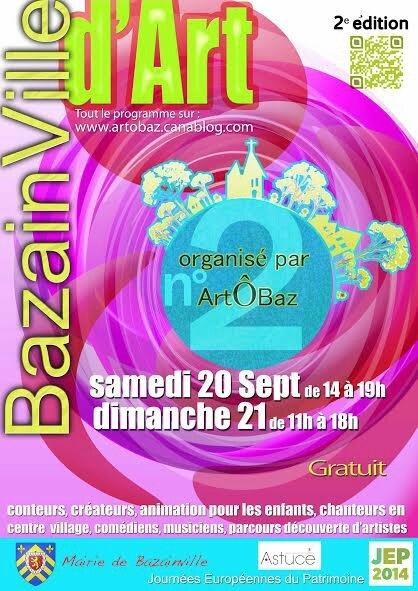 Affiche Bazainville d'art