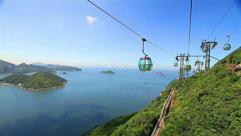 cable car ocean park