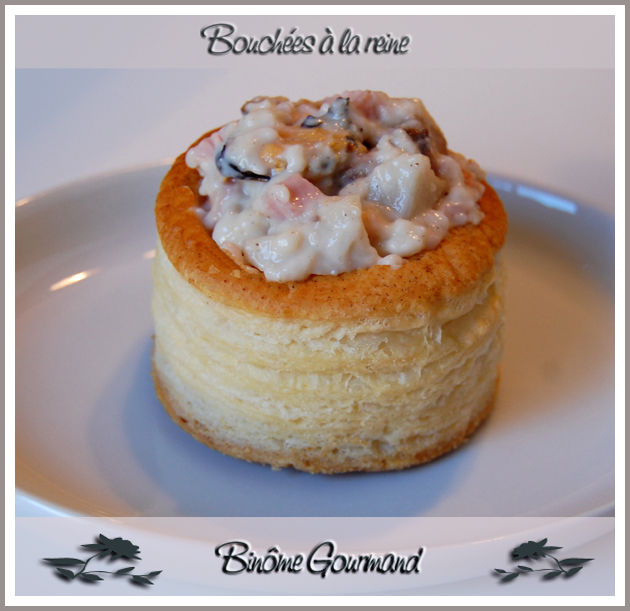 Bouchees A La Reine Aux Fruits De Mer Binome Gourmand
