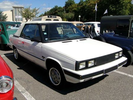 renault alliance 1,7l cabriolet 1985 1987 bourse de crehange 2011 3
