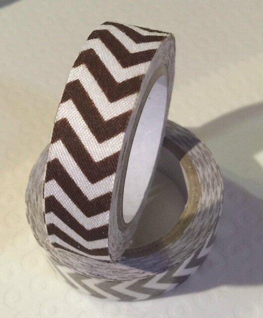 Masking Tape Coton - brun
