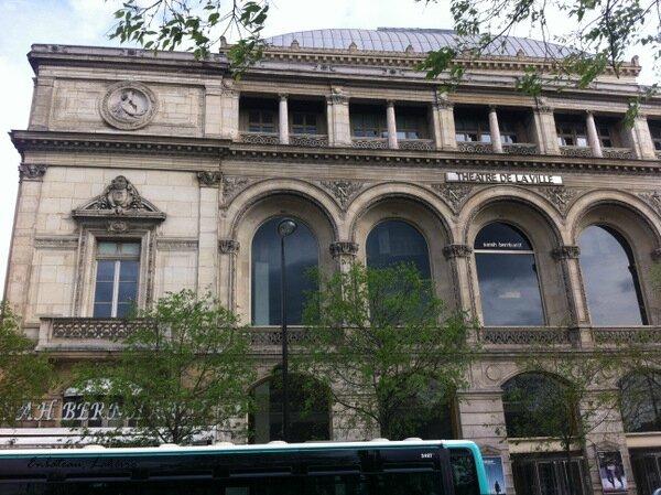 Paris Theatre de la ville 66