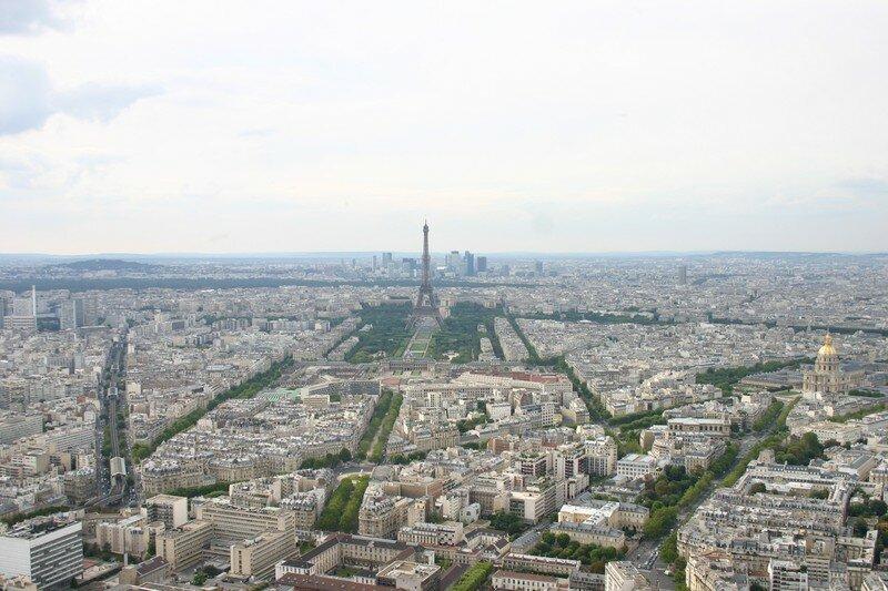 Vue sur Paris, et Tour Eiffel