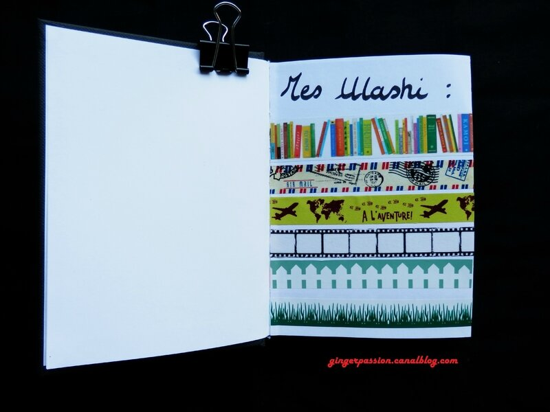 Collection Washi tape page 1