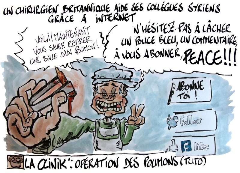 Aide aux chirurgiens Syirens Skype