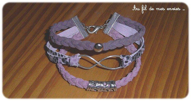 cuir bracelet