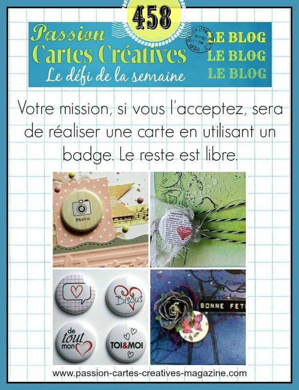 458 carte avec badge