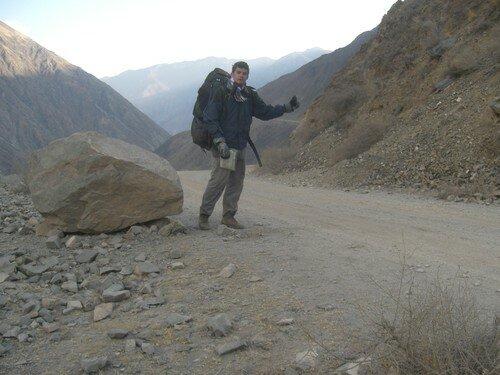 Auto-stop au Tibet !