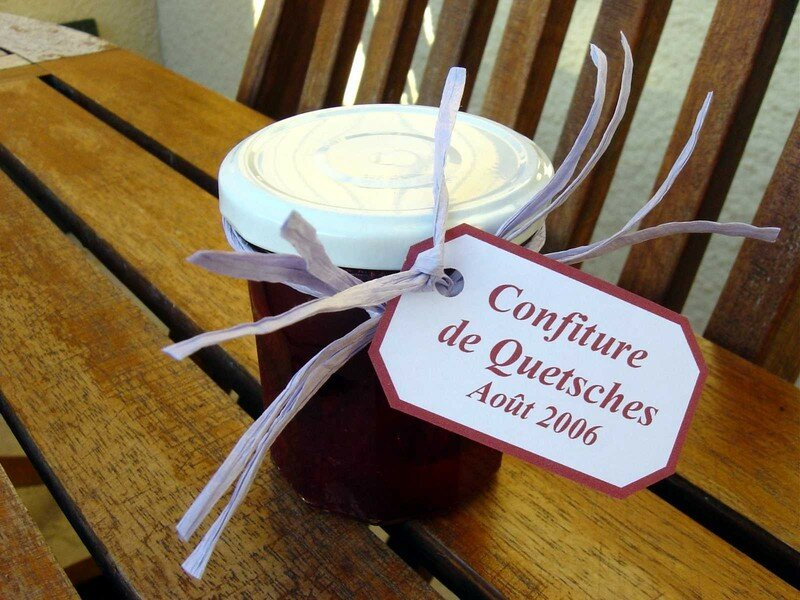 Confiture de quetsches 2006
