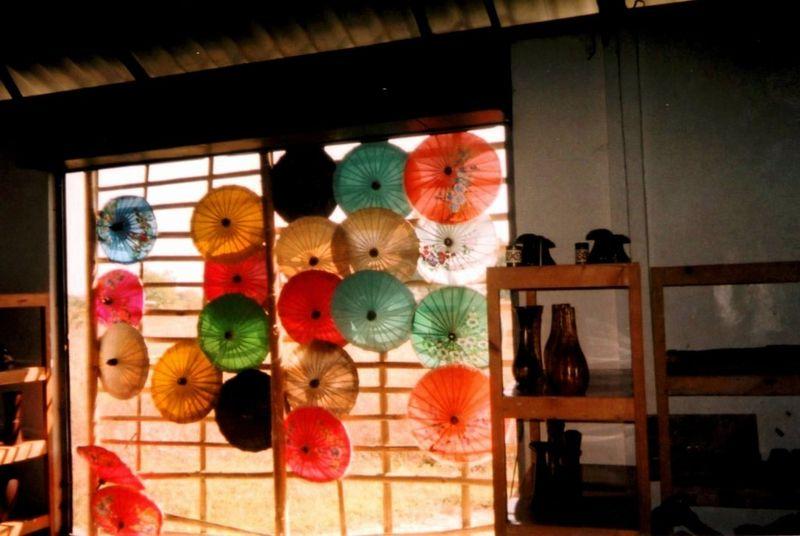 Chiang Maï Ombrelles