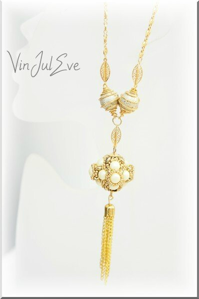 collier Sabac jaune or