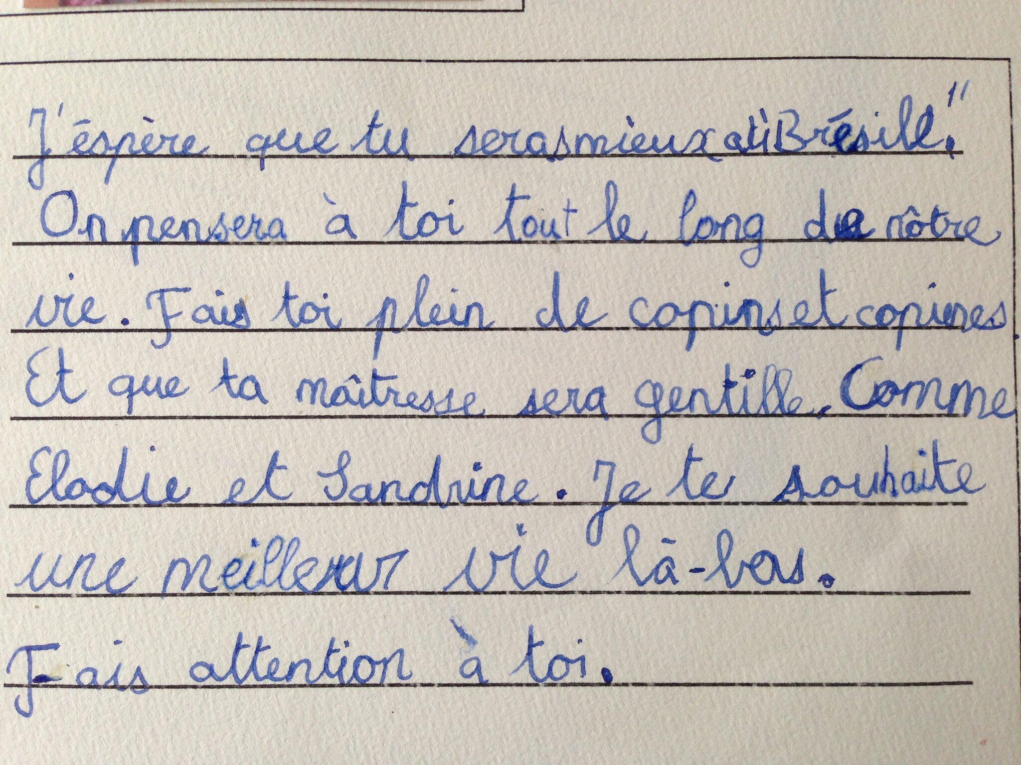 Adeus Gustavo Le Joli Monde De Miss Lilou