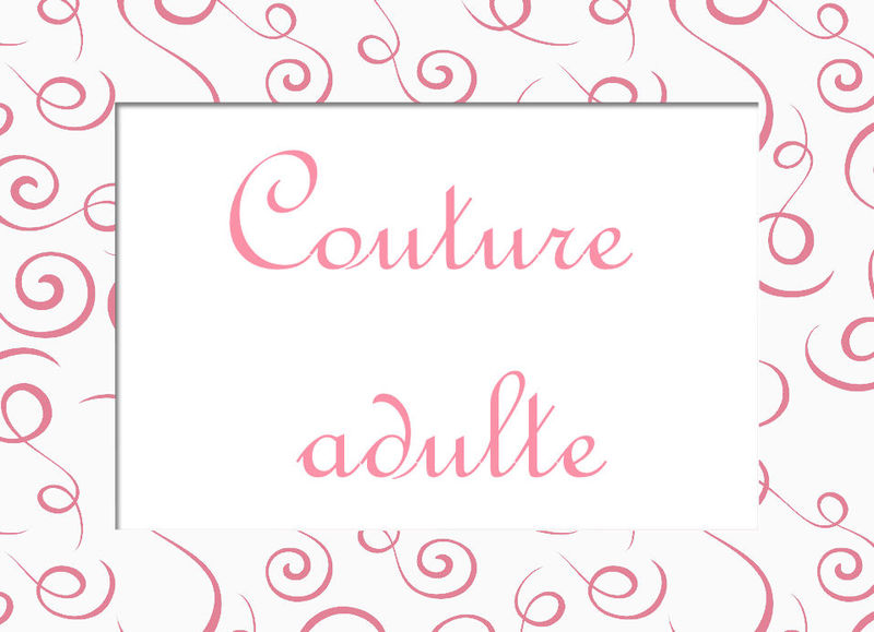 image couture adulte