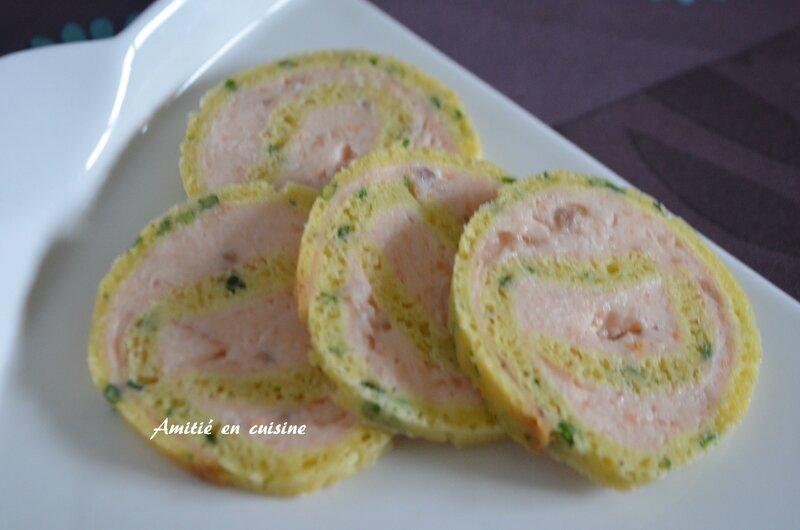 roulé saumon