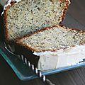 Cake à la <b>banane</b> et pavot