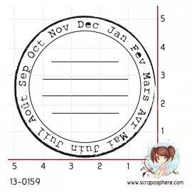 tampon-project-life-cercle-mois-par-lily-fairy
