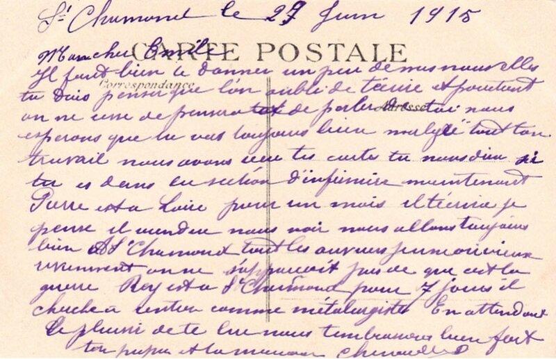 29 juin 1915 cpa